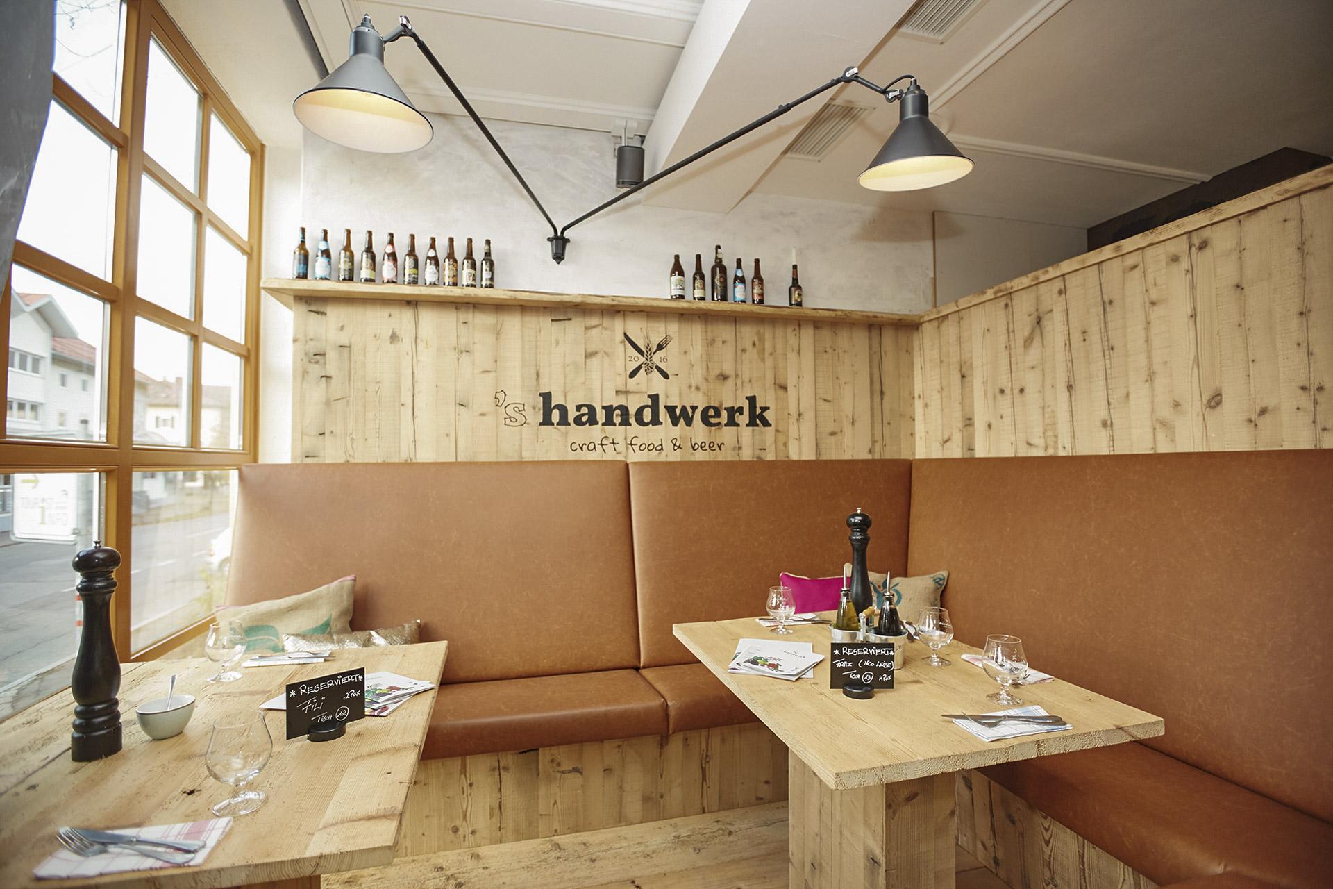 s handwerk - craft food & beer // Sonthofen